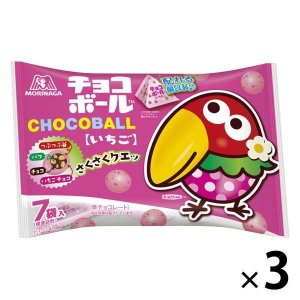 SALE 森永製菓 チョコボール いちご プチパック 3袋