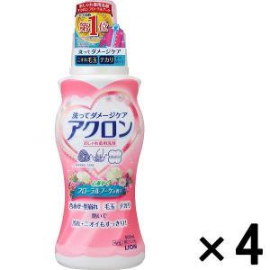 アウトレットライオン アクロン フローラルブーケの香り 500mL 1セット(4個:1個×4)|y-lohaco