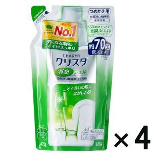 アウトレットライオン CHARMY クリスタ 消臭ジェル つめかえ用 420g 1セット(4個:1個×4)|y-lohaco