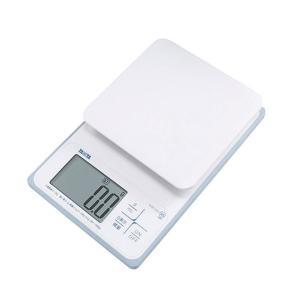タニタ(TANITA) 洗えるデジタルクッキングスケール 2kg ホワイト KW220 1個 新生活