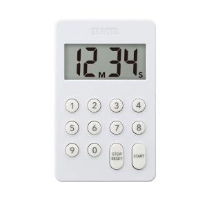 タニタ(TANITA) デジタルタイマー100分計 ホワイト TD415 1個 新生活