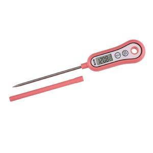 タニタ(TANITA) デジタル温度計 スティック温度計 フランボワーズピンク TT533 1個