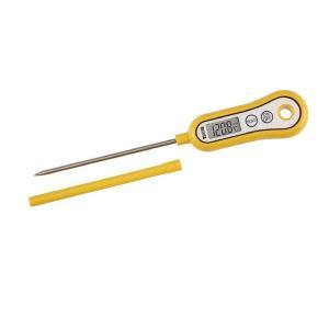 タニタ(TANITA) デジタル温度計 スティック温度計 マンゴーイエロー TT533 1個
