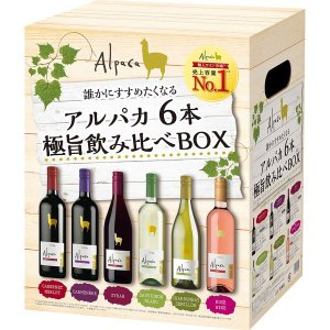 アサヒビール アルパカ6種6本 極旨飲み比べBOX アソートセット 1セット(6本入)|y-lohaco