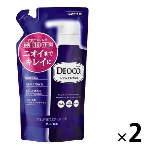 デオコ(DEOCO) 薬用ボディクレンズ 詰め替え 250ml 2個 ロート製薬