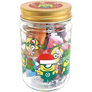 ハート クリスマス ミニオン 瓶ギフト 1個