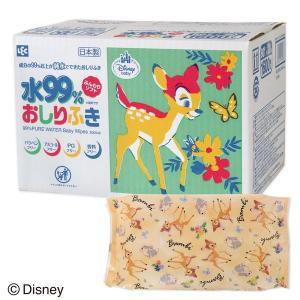 ディズニー バンビ おしりふき 80枚入×20個 レック