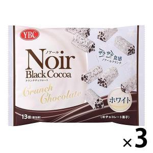 ヤマザキビスケット ノアール クランチチョコレート ホワイト 3袋