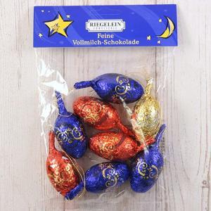 アウトレット カルディコーヒーファーム 〈リゲライン〉 クリスマスオーナメントバッグチョコレート 100g