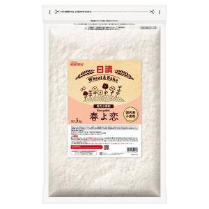 日清フーズ 日清 春よ恋 チャック付 (3kg) ×1個