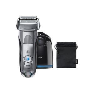 アウトレット ブラウン BRAUN メンズシェーバー シリーズ7 4枚刃 髭剃り 洗浄器付 お風呂剃り対応 7898cc-P 1台 P&G