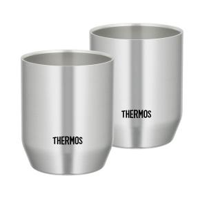 サーモス(THERMOS) 真空断熱カップ ステンレス JDH-360P S 1セット(2個)