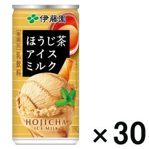 アウトレット伊藤園 ほうじ茶 アイスミルク 190g 1箱(30本入)