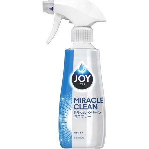 ジョイ JOY ミラクルクリーン泡スプレー 微香タイプ 本体 300ml 1個 食器用洗剤 P&G