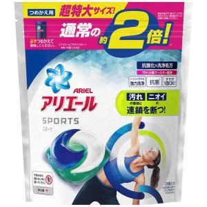アリエール ジェルボール3D プラチナスポーツ 詰め替え 超特大 1個(26粒入) 洗濯洗剤 P&G y-lohaco