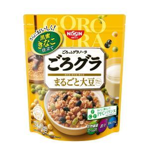日清シスコ ごろっとグラノーラ 3種のまるごと大豆 400g 1袋|y-lohaco