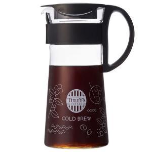 タリーズコーヒージャパン コールドブリューポットブラック G01219 600ml 1個|y-lohaco