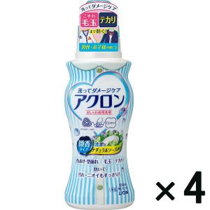 アウトレットライオン アクロン ナチュラルソープの香り 本体 500mL 1セット(4個:1個×4)|y-lohaco