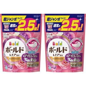 ボールド ジェルボール3D プレミアムブロッサム 詰め替え 超ジャンボ 1セット(2個:88粒入) 洗濯洗剤 P&G y-lohaco