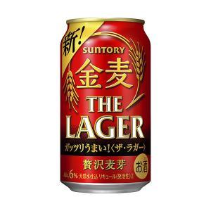 サントリー 金麦〈ゴールド・ラガー〉350ml × 24缶|y-lohaco|02