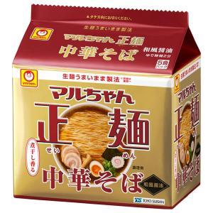 東洋水産 マルちゃん正麺 中華そば 和風醤油 5P 1個|y-lohaco