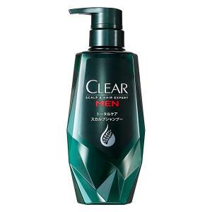 CLEAR(クリアフォーメン)スカルプシャンプー トータルケア ポンプ 本体 350g ユニリーバ