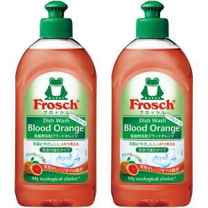 フロッシュ ブラッドオレンジ 本体 300ml 1セット(2個入) 食器用洗剤 旭化成
