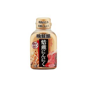 日本食研 晩餐館焼肉のたれ焙煎にんにく 210g 1本