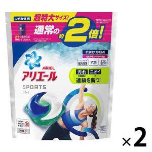 アリエール ジェルボール3D プラチナスポーツ 詰め替え 超特大 26粒入 1セット(2個入) 洗濯...