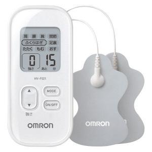 オムロン 低周波治療器 Pulse Massager ホワイト HV-F021-W 1台