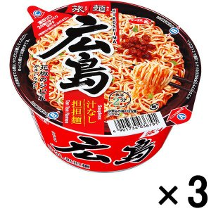 サンヨー食品 サッポロ一番 旅麺 広島汁なし担担麺 3個|y-lohaco