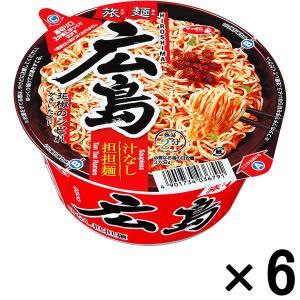 サンヨー食品 サッポロ一番 旅麺 広島汁なし担担麺 6個|y-lohaco