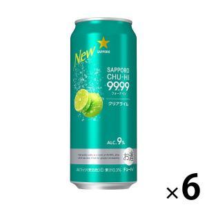 サッポロビール サッポロチューハイ 99.99(フォーナイン) クリアライム 500ml × 6缶|y-lohaco