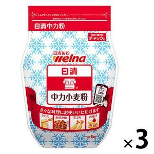 日清フーズ 日清 雪 チャック付 (500g) ×3個