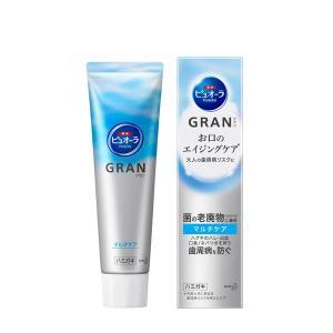 ピュオーラ GRAN(グラン) マルチケア モイストクリアミントの香味 100g 1本 花王 歯磨き...