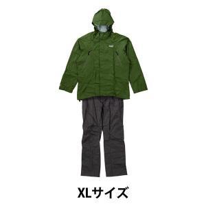 アウトレットColeman(コールマン) レインスーツ 上下セット メンズ XL グリーン 2000026895 1着 y-lohaco