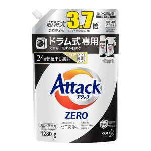 アタックゼロ(Attack ZERO) ドラム式専用 詰め替え 特大 1280g 1個 衣料用洗剤 花王 y-lohaco