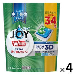 セール ジョイ JOY ジェルタブ3D 超特大 1セット(54個入×4袋) 食洗機用洗剤 P&G