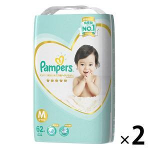 パンパース おむつ テープ M(6〜11kg) 1パック(62枚入) はじめての肌へのいちばん P&...