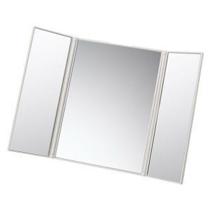 無印良品 スチロール折りたたみ3面鏡 153×122×12mm 02868482 良品計画
