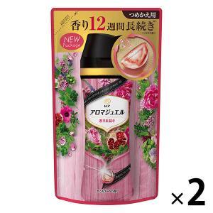 セール対象品 レノアハピネス アロマジュエル ザクロブーケの香り 詰め替え 455ml 1セット(2...