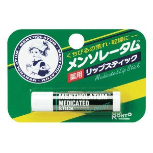 メンソレータム 薬用リップスティック 2個 ロート製薬