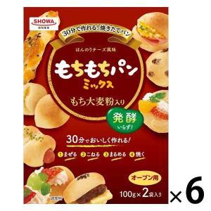 昭和産業 もちもちパンミックス 1セット(6個)