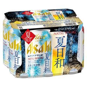 アサヒビール クリアアサヒ 夏日和 350ml 1パック(6缶入)|y-lohaco