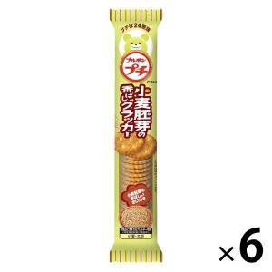 ブルボン プチ小麦胚芽の香ばしクラッカー 54g 1セット(6個)