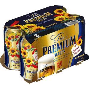 父の日ンプレゼント ギフト ビール サントリー プレミアムビール ザ・プレミアム・モルツ(プレモル)350ml 1パック(6缶入)|y-lohaco