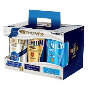 サントリー プレミアム ビール ザ・プレミアム・モルツ 3種 1パック(6缶入)|y-lohaco