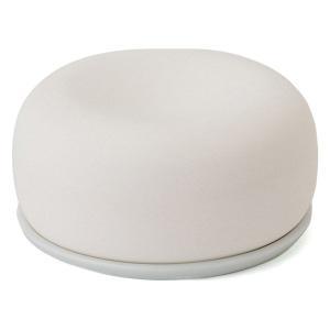 無印良品 アロマストーン 皿付 白 良品計画
