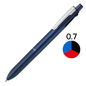 海外モデル 3色ボールペン ZX3C 0.7mm ブルー軸 B3AZ15-BL ゼブラ|y-lohaco