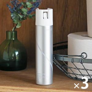 【アスクル限定】トイレの消臭スプレー 濃縮タイプ 無香性 1セット(3本) エステー